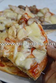 Diah Didi's Kitchen: Pizza Ayam Jamur