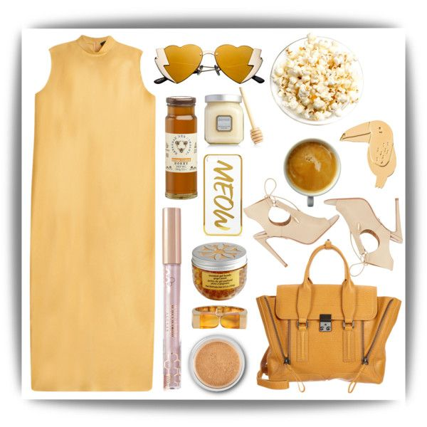A fashion look from September 2015 featuring The Row dresses, Aquazzura sandals and 3.1 Phillip Lim handbags. Browse and shop related looks.