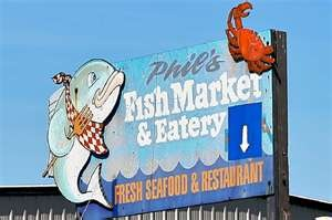 Phils Fish Market...amazing fish stew in a bread bowl. Moss Landing CA