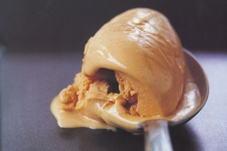 This ice-cream recipe was inspired by London chef Simon Hopkinson.
