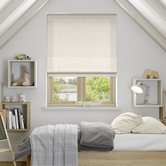 Cavendish Cream Roman Blind from Blinds 2go