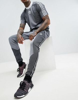 210f4d22c00 Image 1 of adidas Originals PLGN Knitted Joggers In Skinny Fit In Black  CW5112