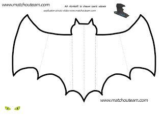 kit récréatif Halloween chauve-souris                                                                                                                                                                                 Plus