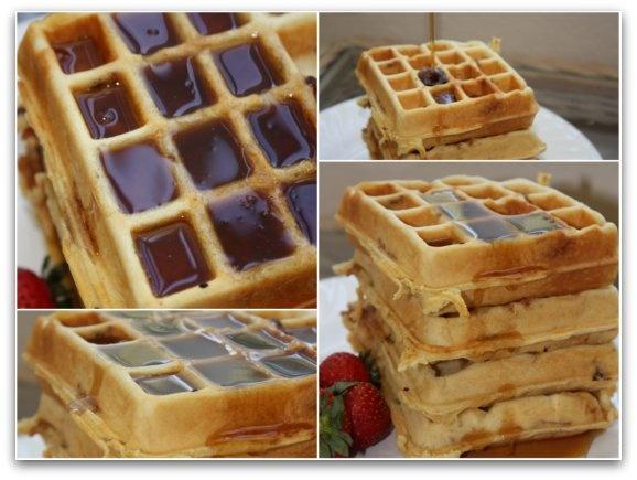 Brown Sugar Maple Bacon Waffles | Good Eats | Pinterest
