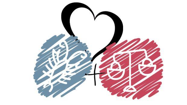 Libra with Cancer Love Compatibility - Libra Love Horoscope 2017