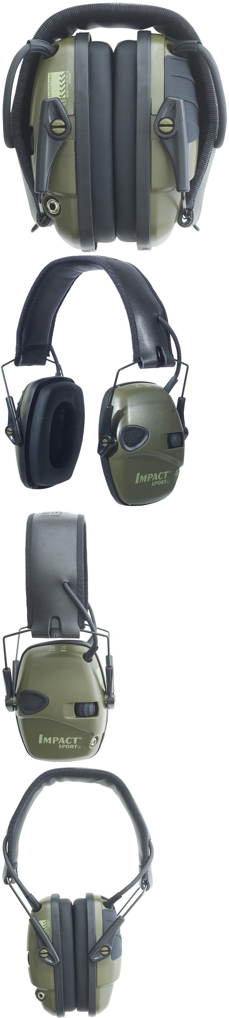 Hearing Protection 73942: Electronic Ear Muffs Shooting Protection Noise Cancelling Head Gear Impact -> BUY IT NOW ONLY: $55.68 on eBay!