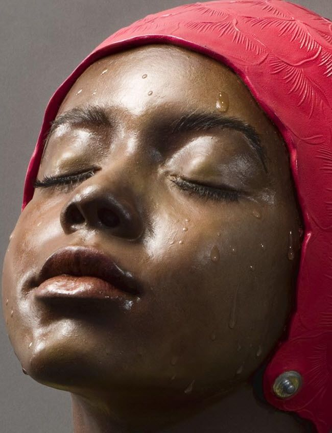 Carole A. Feuerman, American sculptor, is internationally recognized as one of the world's most prominent hyperrealist sculptors with a prolific career spanning four decades. She lives and works in New York and Florida.