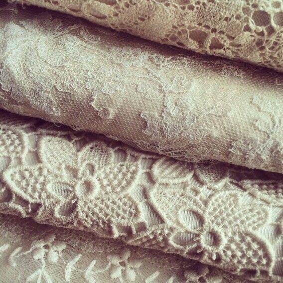 Beautiful laces @Dimity EcoBride #dimity #ecobride www.dimity.co.za #chantilly #guipure #bobbinette