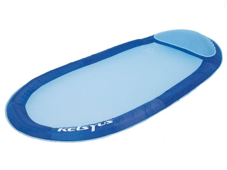 Bóia Cama Inflável para Piscina Floating Hammock - Kelsyus  Divirta-se e tome um sol gostoso na sua piscina ou no lago com esta confortável Bóia Cama Inflável para Piscina Floating Hammock da Kelsyus.