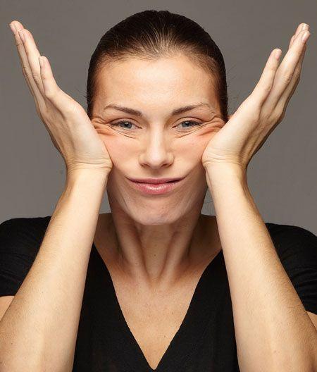 La ginnastica facciale contro le rughe tra naso e labbra - OK La Salute