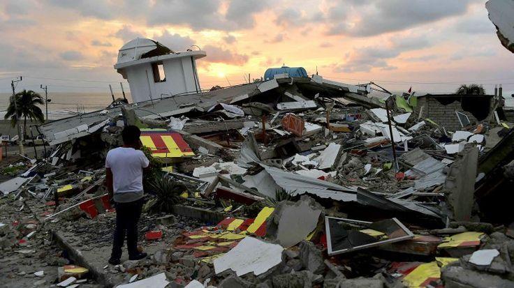 Una fuerte réplica de 6,1 sacude de nuevo Ecuador tras el terremoto del sábado - 20minutos.es