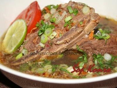 Konro Soup, yummi .. #Pindonesia