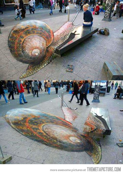 I'm dying to see 3d art in person, and take a picture