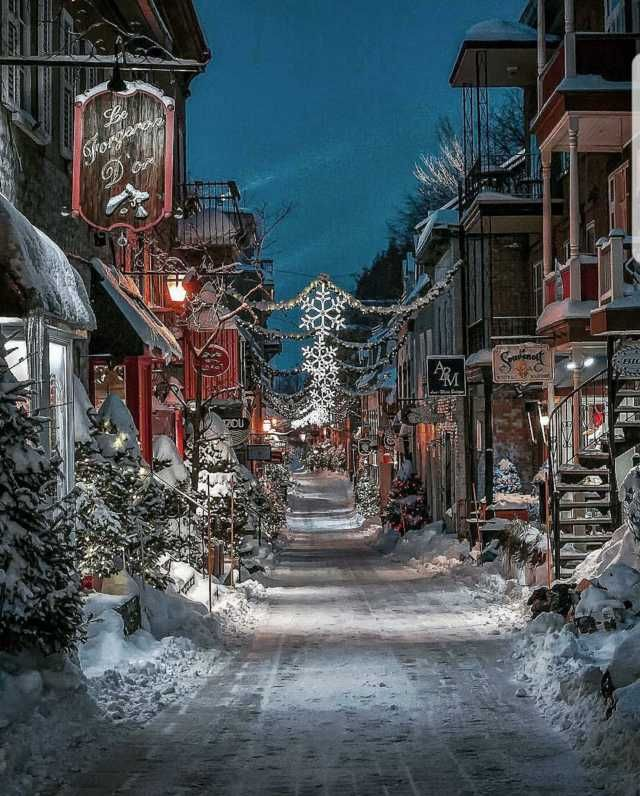 Winter In Quebec Winter Scenery Winter Pictures Beautiful Places
