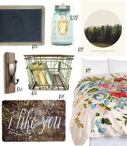 Dorm Style: A Vintage Look for Under $250