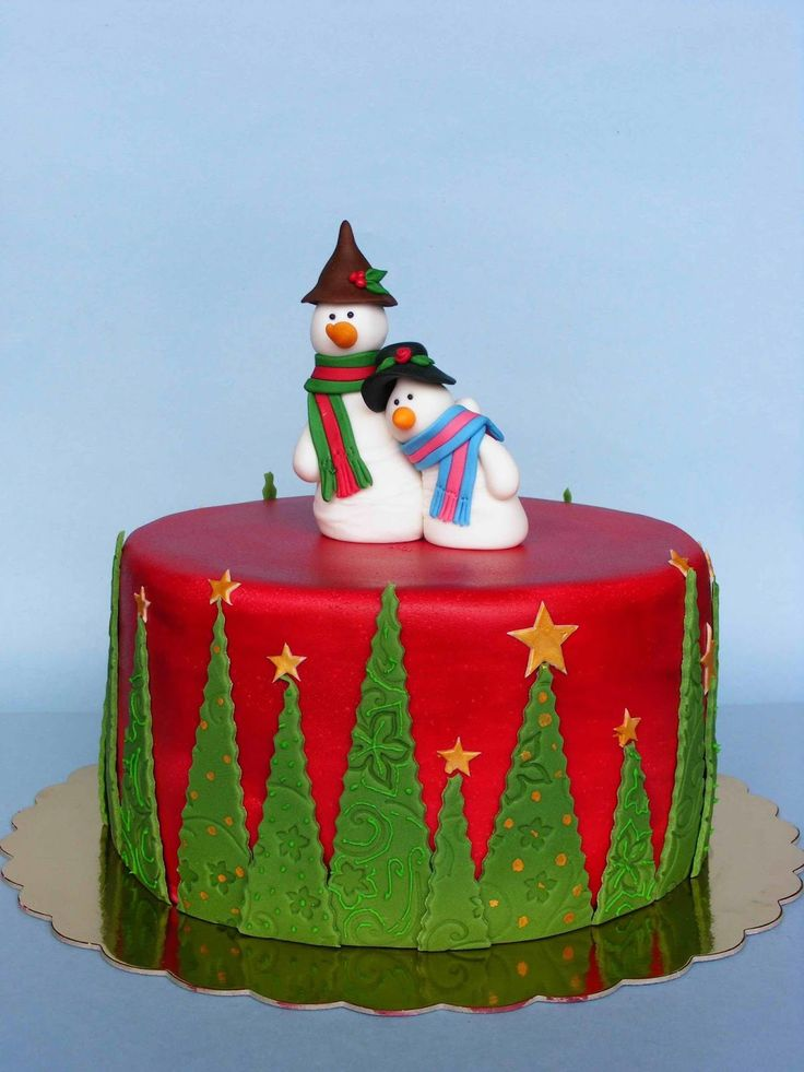 1060 best Christmas Cakes, Cookies, Cupcakes and Other Treats ...