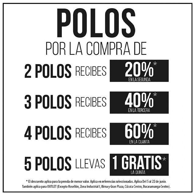 #polos #sale #descuento #fashion #moda #hombre #menstyle #cccuartaetapa Tennis Local 101A