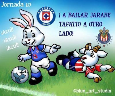 images chivas&cruz azul   Chivas vs Cruz Azul por betillo07 - Cartones - Fotos de Cruz Azul