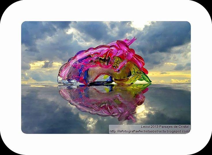 La Fotografía Efectista Abstracta. Fotos Abstractas. Abstract  Photos.: Abstract Photo 2966  Crystal Landscape 133 The eye...