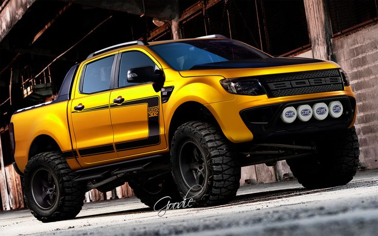 Goodie Design BOSS 302 | trucks | Ford trucks, Trucks ...