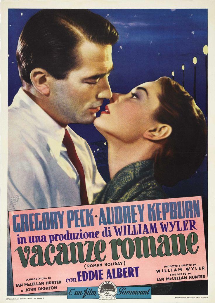 """Vacanze romane"", ""Roman Holiday"" (1953). Director: William Wyler."