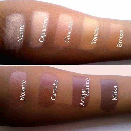 Nos teintes ZAO ETNIK Par Cassis Cosmétiques #zaomakeup #maquillagebio #makeupbio #makeup #crueltyfree #vegan #veganmakeup #shineup
