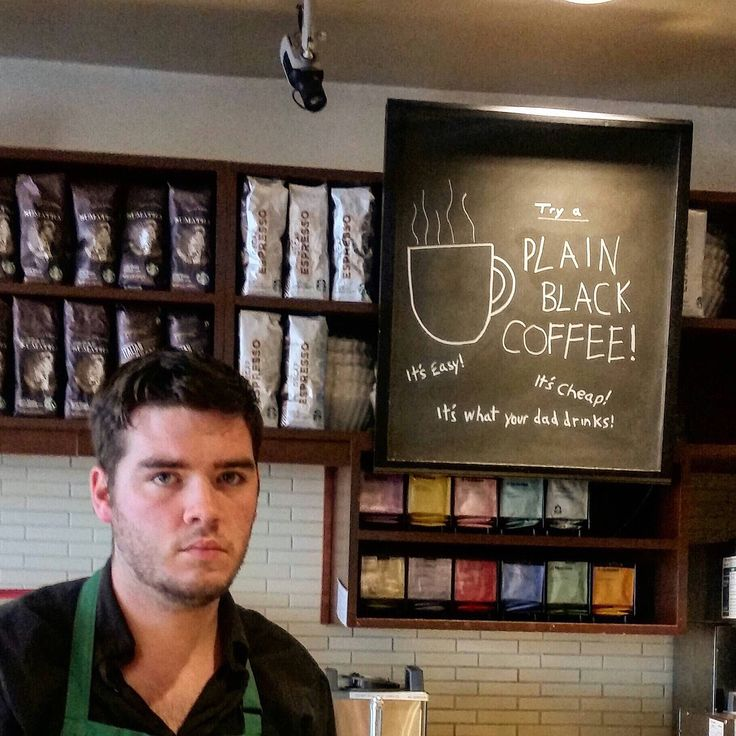 """""""I'm not allowed to make signs anymore."""" -u/DragonTwain #BaristaLife  This guy is my friend bahaha"""