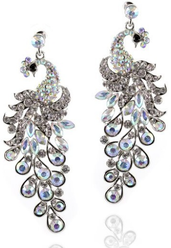 Peacock styled Kundan Jewelry