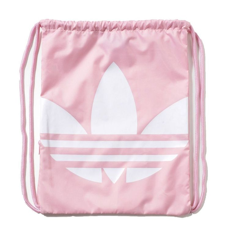 |AY8703| adidas Gymsack Sport Bag – Trefoil pink/white 2016 Unisex Urban Street #Adidas #DuffleGymBag