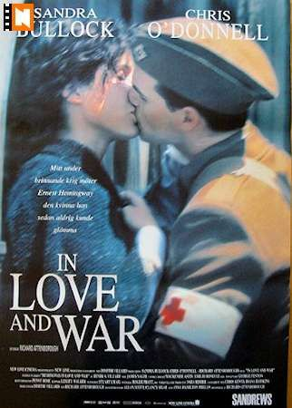 sandra bullock movie posters | In Love and War (1996)' with Sandra Bullock. | Movies I Love
