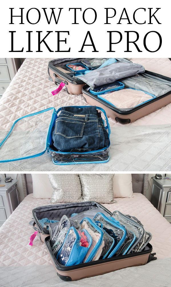 How to Pack Like a Pro - Organized Travel