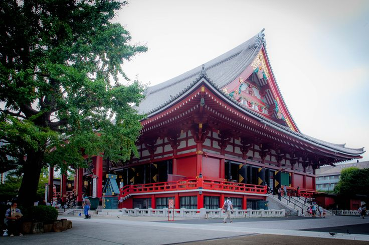 Senso-ji Temple Asakusa [OC]