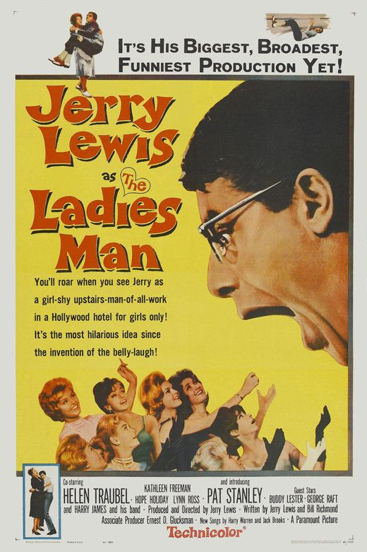 The Ladies Man (1961) Move over, Don Juan and Casanova - you've got competition from none other than Herbert H. Heebert (Jerry Lewis). After being jilted by his gal, a depressed Herbert swears off rom
