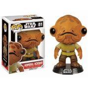 Funko POP! Star Wars - Episode VII The Force Awakens: Admiral Ackbar - Vinyl Figure 10cm