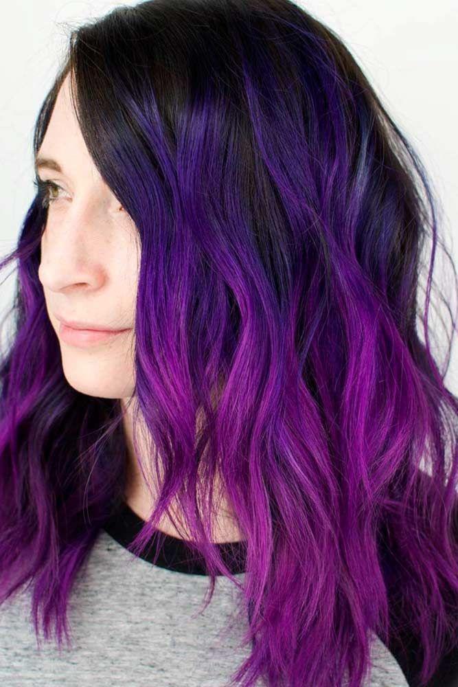 Best 25+ Purple hair ideas on Pinterest | Dark purple hair ...