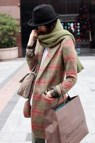 British style sub-lapel coat