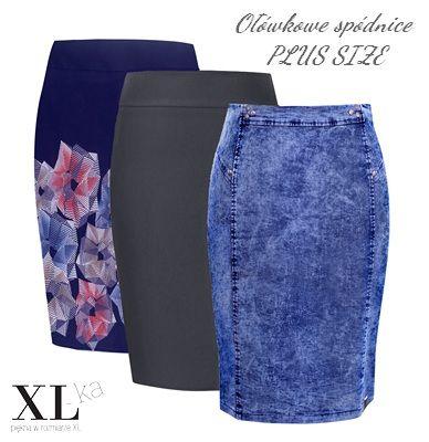 Modne spódnice ołówkowe w dużych rozmiarach na XL-ka.pl Zapraszamy #spódnicaołówkowa #spódnicaxxl