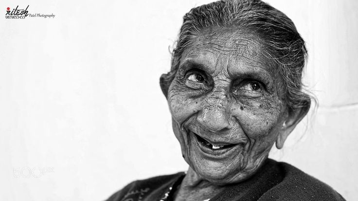 नानी - My Grandmother by Ritesh Patel on 500px