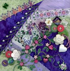A blog about Crazy Quilting and Embroidery. Home of Crazy Quilt Quarterly Magazine.