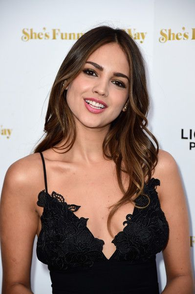 "Actress Eiza Gonzalez arrives at the Premiere Of Lionsgate Premiere's ""She's Funny That Way"" at Harmony Gold on August 19, 2015 in Los Angeles, California."