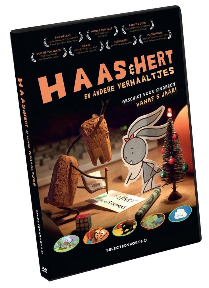 Haas & Hert en andere verhaaltjes // €12.00 //  Films in alle stijlen, kleuren en vormen die jonge kijkers zullen verrassen, ontroeren en verbazen. Alle films zijn zonder dialogen. // daltonshop.be