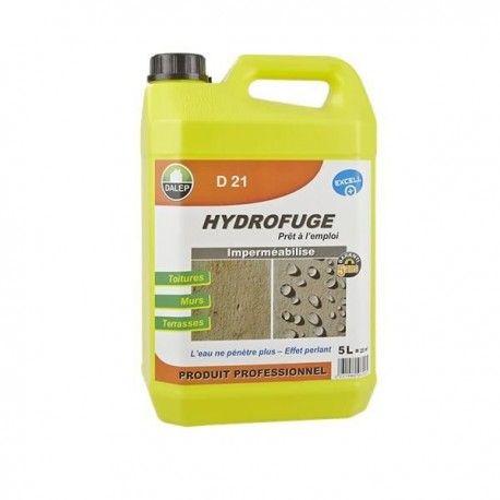 L'hydrofuge D 21 est un produit au fort pouvoir imperméabilisant contre l'eau et les graisses. Il s'applique sur toitures, murs, terrasses... Non filmogène, il laisse respirer le matériau traité et permet l'inertie des calories.