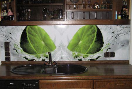 Küchenrückwand / Spritzschutz - Nachher