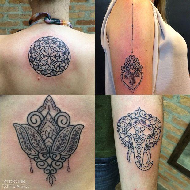 #tattoofriday - Patrícia Gea do Estúdio Tattoo Ink em São Paulo;