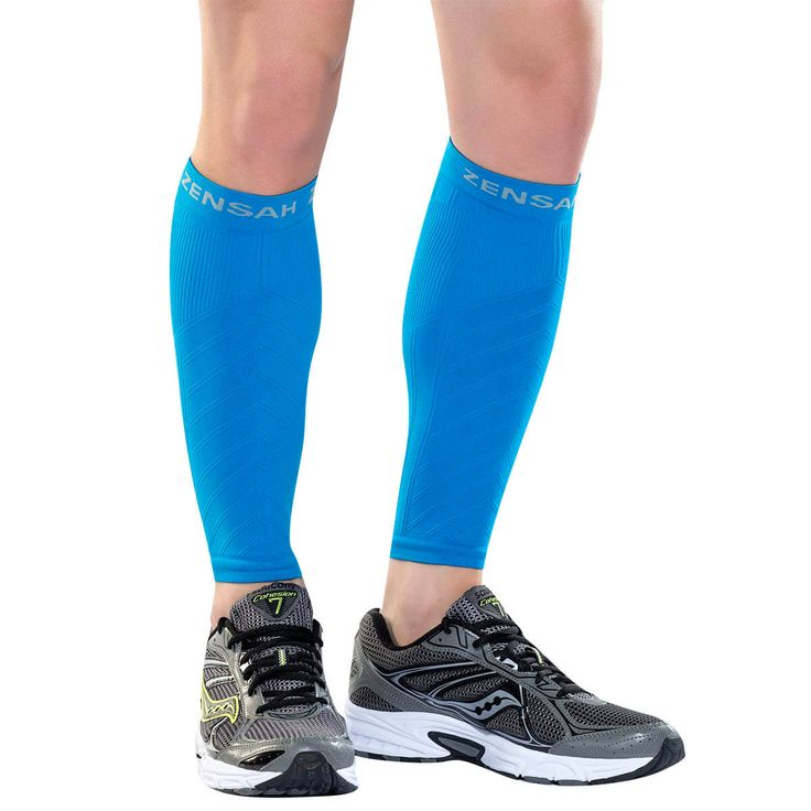 Compression Leg Sleeves - Leg Sleeves for Running, Calf Sleeves, Shin Splint Sleeves - Best Leg Sleeves