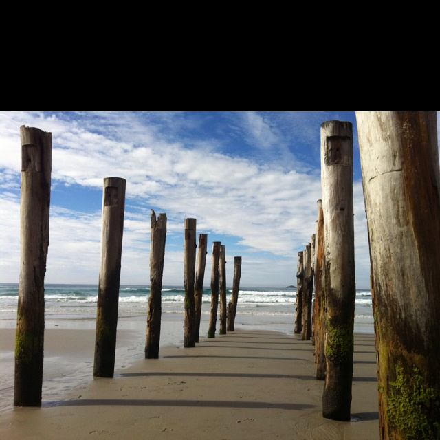 St Clair Beach, Dunedin, NZ