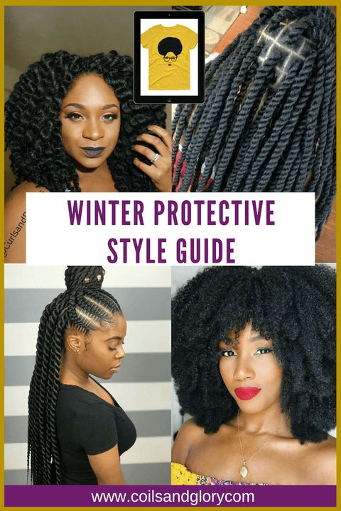 10 Winter Protecting Types For 4c Pure Hair