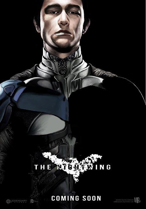 Robin John Blake...The Nightwing!