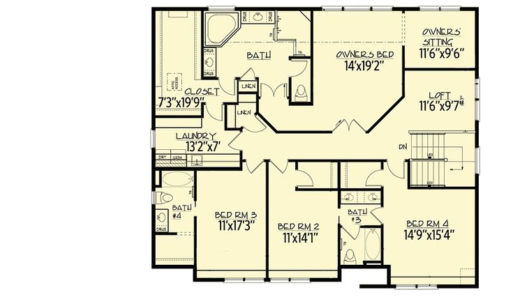 14 best house 11 and 12 images on pinterest beam for Storybook craftsman house plans