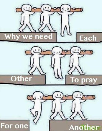 Pray, with all prayers and supplication in the Spirit for the Saints~ Ephesians 6-18  >> Lift each other up in Prayer!